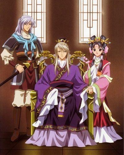 Saiunkoku Monogatari Saison 2 affiche